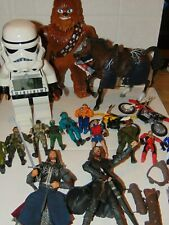 Lotr Lord Of The Rings Action Figures, Lego Star Wars And Various Figures