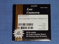 Lee Filter (Wratten) 75x75mm  CC 15M