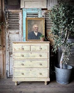 Original Paint Chest Of Drawers