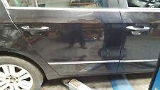 VW PASSAT B6 SALOON REAR RIGHT DRIVER SIDE BARE PANEL DOOR IN BLACK LC9X