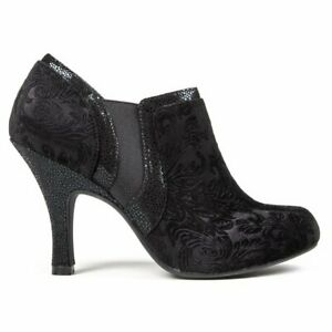 RUBY SHOO Womens Juno Ankle Boots Black
