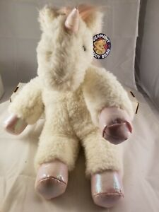 New Unicorn Vermont Teddy Bear Company Fluffy Fantasy Unicorn 18 Inch