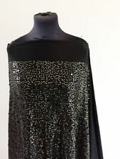 By the Metre Sequin Unbranded Apparel - Dress Fabric