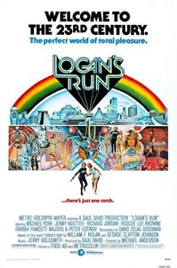 Posters USA - Logan's Run Movie Poster Glossy Finish - PRM699