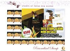 PNG Stamps, 2015, Surcharged Upvalues,20t,Morobe,Gift Sheet #3