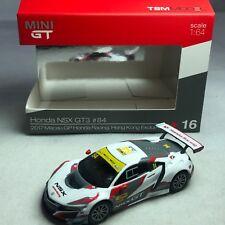 1/64 TSM MINI GT HONDA NSX GT3 MACAU #84 HK TOYSOUL EXCLUSIVE