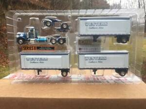 DCP Western Distributing Peterbilt Tripples { Very Rare }