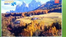 """Beautiful Village"" 1000 piece Jigsaw Puzzle, complete"