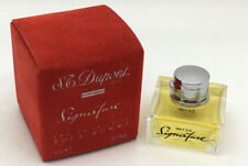 SIGNATURE by S.T. Dupont Eau De Toilette Mini Splash for Men 0.17 Ounce  5 ml
