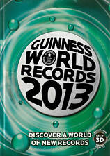 """""""AS NEW"""" Guinness World Recor, Guinness World Records 2013, Book"""