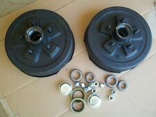 "Trailer 5 on 5"" Electric Brakes Hub Drums COMPLETE KIT 3500 lb Axle Dexter"