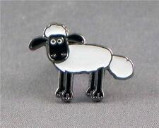 Shaun the Sheep pin badge. Shaun Cartoon series. Lamb