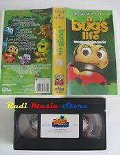 film VHS cartone A BUG'S LIFE MEGAMINIMONDO DISNEYM 1999  (F73**)  no dvd