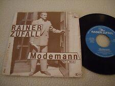 """RAINER ZUFALL - Modemann / Nick, Nick - 7"""" Promo - Schalter Records 1981 NDW"""