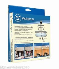 Westinghouse 01011 Recessed Can Light Converter for Hanging Light Fixtures