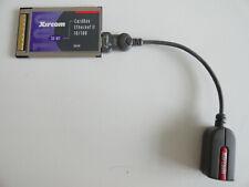 JJ7: Xircom CBE2-100 CardBus Ethernet II 10/100