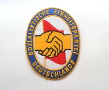 "DDR partido sed Patch Patch ""insignia"" aprox. 9cm ecusson RDA socialista ed"