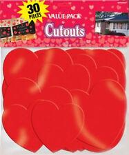 Décorations de fête rouge Amscan pour la maison Saint Valentin