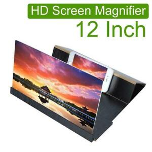 """12"""" Mobile Phone Amplifier Enlarged Screen Magnifier Bracket Cellphone Stand"""