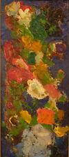 Pierre Ambrogiani - Huile sur panneau Bouquet de Fleurs v 93 bis
