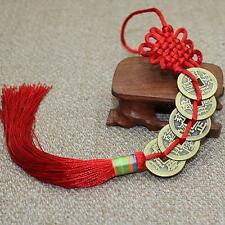 Feng Shui Chinese Coins Coin for good Luck PROSPERITY PROTECTION Charm Tassel S2