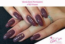 Vernis Semi Permanent NAILITY UV/LED/CCFL n°62 Frisson 7ml GEL POLISH USA