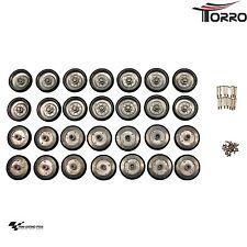 Torro 1:16 Laufrollen - Set für Leopard 2A6 (für Metallunterwanne) 1213889005