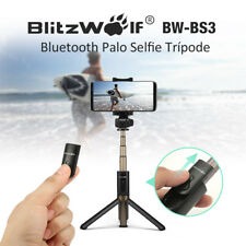 BlitzWolf Bluetooth Selfie Stick & Extendable Tripod & Shutter Removable Remote