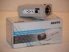 Sanyo VCC-8774 Wide Dynamic Range CCTV Camera W/Original Box Very Good Condition