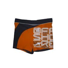 Bañador boxer   niño de Losan , naranja , talla 3