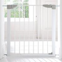 Lindam Sure Shut Orto Pressure Fit Safety Gate - 76 - 89 cm (white) Ext. Incl.