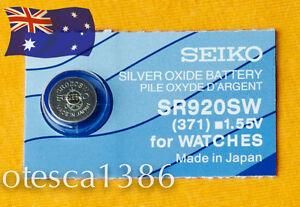 SR920SW (371) Seiko Battery, Brand New