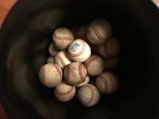 Lot of 16 NEW-USED LEATHER BASEBALLS ASSORTED BRANDS--FREE SHIPPING !!!!