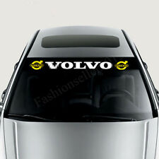 Reflective Front Windshield Decal Vinyl Car Stickers for VOLVO Auto Window Deco