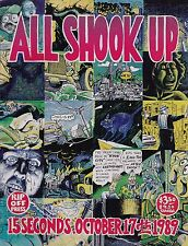 ALL SHOOK UP: 15 SECONDS - OCTOBER 17 1989 - SF CALIF EARTHQUAKE RIP OFF PRESS