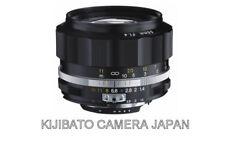 Voigtlander NOKTON 58mm F1.4 SLIIS Black Rim Ai-S mount JAPAN OFFICIAL NEW! F/S