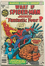 WHAT IF#1 VG/FN 1977 SPIDER-MAN MARVEL BRONZE AGE COMICS