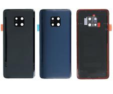 Kit Abdeckung Batterie Huawei Mate 20 Pro Glas Heckverkleidung +Linse +Klebepads