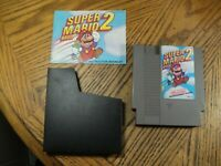 Super Mario Bros. 2 ( Nintendo, 1988 ) Cartridge, Manual & Sleeve