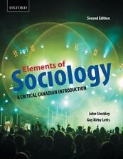 Elements of Sociology: A Critical Canadian Introduction-ExLibrary