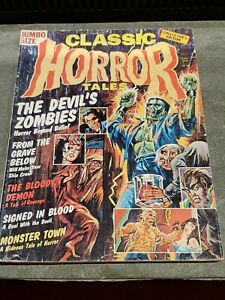 CLASSIC HORROR TALES V.7 #3 August 1976 Eerie Pub.