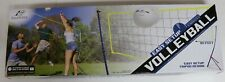 EASTPOINT PORTABLE VOLLEYBALL EASY SET UP TRIPOD NET, BALL & PUMP CARRY BAG NEW