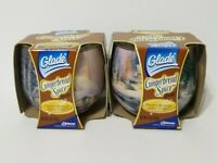 Glade Candles Thomas Kinkade GINGERBREAD SPICE Candles 2 pc Sealed NOS