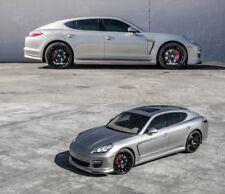 """22"""" Curva Concepts Wheels for Porsche Panamera S GT GTS Fisker Karma Black Rims"""