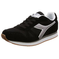 Scarpe Uomo Diadora Simple Run Basse Grigie Sportive Casual