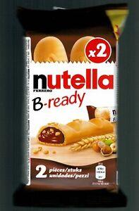 2 X NUTELLA B-READY 44g FERRERO ITALY 2020