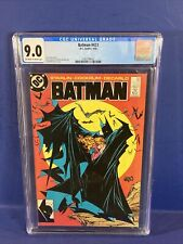 Batman #423 🦇 CGC 9.0 1st Print Todd McFarlane Cover 🔥 not 171 181 251