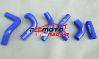Blue For HUSQVARNA TE400 TE450 TE510 2002-2008 03 04 05 SILICONE RADIATOR HOSE