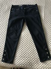 ADRIANO GOLDSCHMEID AG Jeans - The Marine Button Crop Super Skinny Women's 29