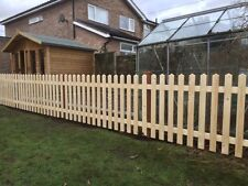 """6ft x 3ft Project Deal"" Picket Fence Panels Planed Smooth"